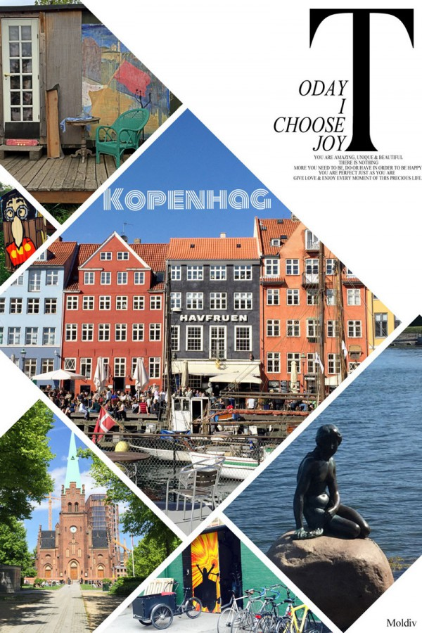 Andersen'den Masallar ve Kopenhag [Kobenhavn]